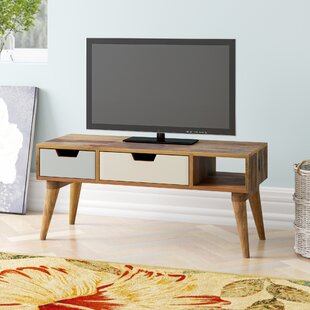 Solid Wood TV Stand By George Oliver