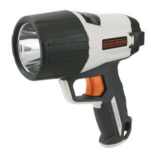 Black & Decker Flashlight Led 5 Watt 500 Lumen Waterproof 16 Cm Grey By Edco
