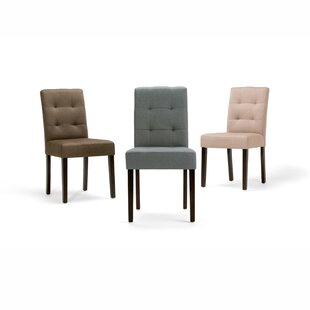 Washtenaw Upholstered Dining Chair (Set o..