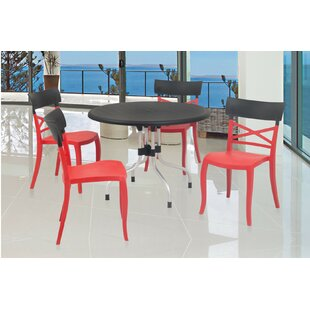 Keene Commercial Grade 5 Piece Dining Cha..