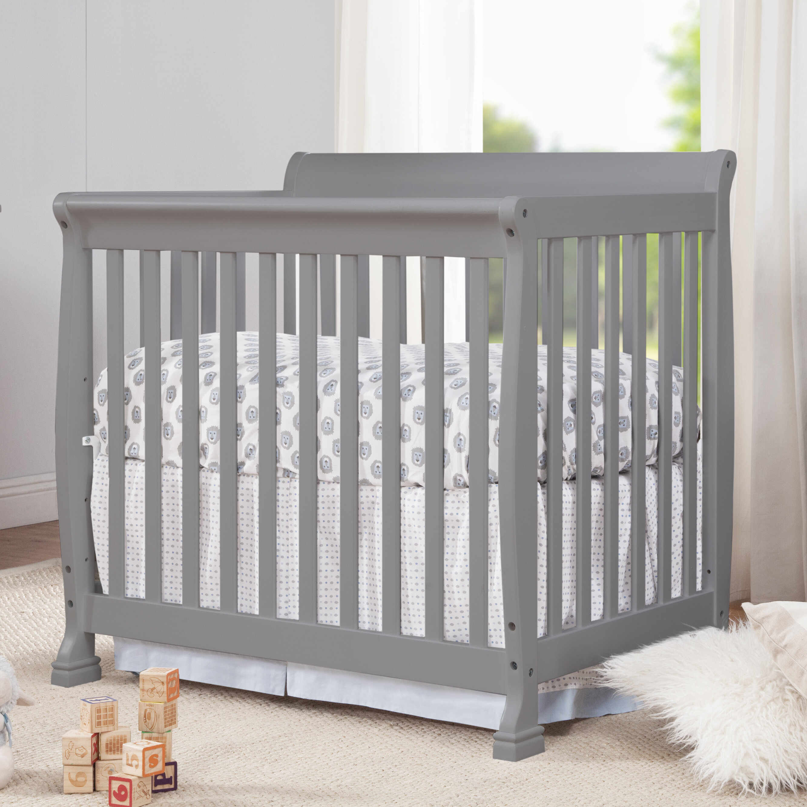com white in portable crib convertible addison sided cribs two on amazon breathable me dream dp mini