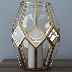 Burditt Glass Lantern