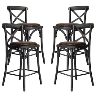 Annette Metal 26.89 Bar Stool (Set of 4) by Rosalind Wheeler