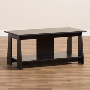 Ebern Designs Hogansville Wooden Coffee Table
