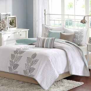 Queener 6 Piece Reversible Coverlet Set