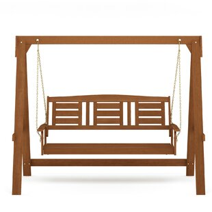 Page 3 Seater Porch Swing with Stand by Alcott Hill