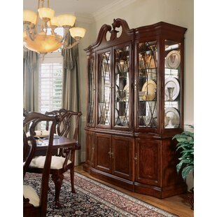 Astoria Grand Staas Wood Lighted China Cabinet