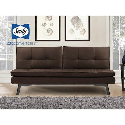 Leather Euro Lounger Sofa Wayfair