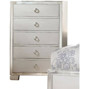 Lancelot 5 Drawer Chest by House of Hampton