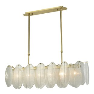 Mercer41 Aldridge Island 6-Light Kitchen Island Pendant