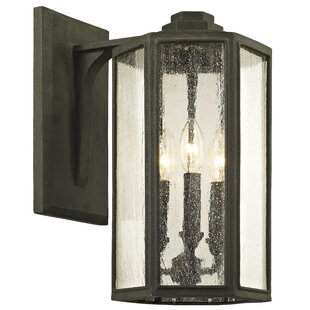 Affordable Hatherop 3-Light Outdoor Wall Lantern By Gracie Oaks