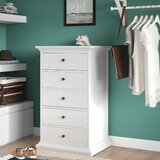 Breckenridge 5 Drawer Lingerie Chest by Beachcrest Home