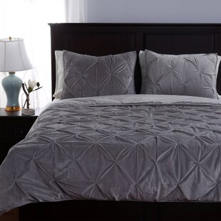 Berkshire Blanket Parisian Pintuck 3 Piece Comforter Set