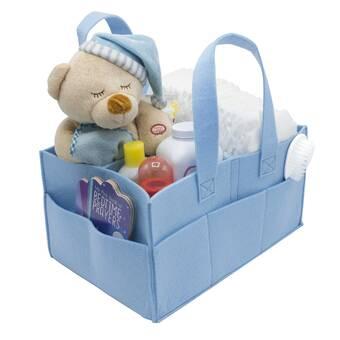 Harriet Bee Turney Crib Diaper Stacker Wayfair