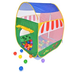 Pretend Garden Twist Pop-Up Play Tent With Carrying Bag By EWonderWorld