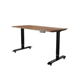 Reviews Lesure Electric Standing Desk Converter by Symple Stuff
