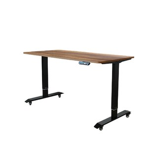 Compare prices Mollie Ergonomic Height Adjustable Standing Desk By Symple Stuff