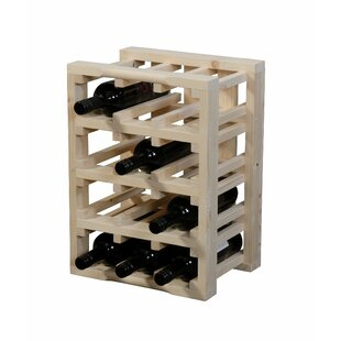 12 Bottle Floor Wine Rack By House Of Hampton