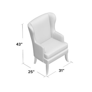 Uniquely Furnished Liberty Wingback Chair
