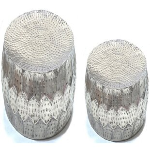Barraza 2 Piece End Table Set by Bungalow..
