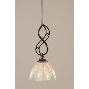 Fleur De Lis Living Thomason 1-Light Mini..