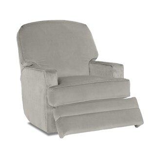 Bridger Glider Swivel Recliner by Wayfair Custom Upholstery™
