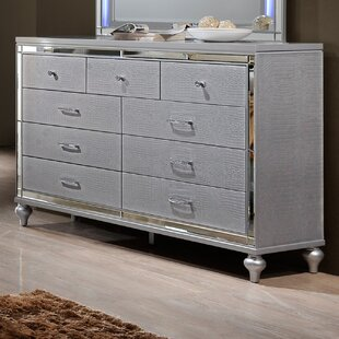 Willa Arlo Interiors Regents 9 Drawer Dresser