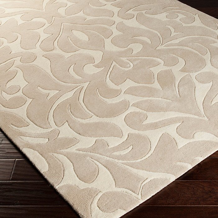 Modern Classics Hand-Tufted Light Brow/Cream Area Rug
