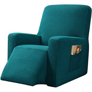 Box Cushion Recliner Slipcover By 17 Stories