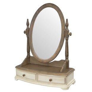 Allevard Round Dressing Table Mirror By Fleur De Lis Living