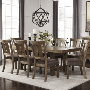 Etolin 9 Piece Dining Set by Loon Peak New Design