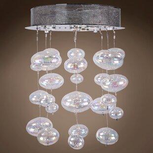 Orren Ellis Selma 4-Light Cluster Pendant
