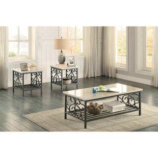 Fleur De Lis Living Kenilworth 3 Coffee Table Set (Set of 3)