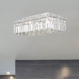 Willa Arlo Interiors Anjali Indoor 4-Light Flush Mount