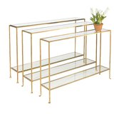Console Table by Worlds Away