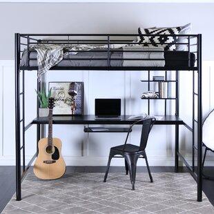 Teen Girl Bunk Beds With Desk Wayfair