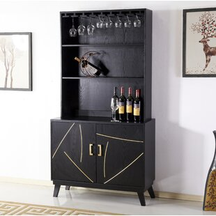 Trombley 2 Door Accent Bar with Wine Storage by Mercer41