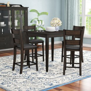 Belknap 5 Piece Dining Set Red Barrel Studio
