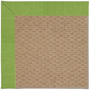 Zoe Machine Tufted Grass/Brown Indoor/Outdoor Area Rug