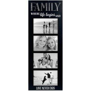 Family Galvanized Panel Picture Frame