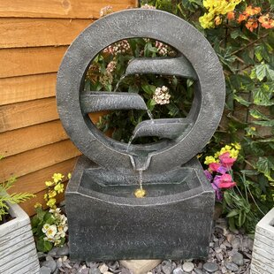 Tranquility Eclipse Resin Water Feature With Light By Sol 72 Outdoor