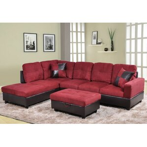 Madison Sectional by Beverly Fine Furniture