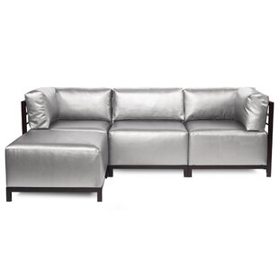 Woodsen Patio Sectional with Cushions