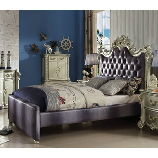 Mackenzie Upholstered Panel Bed