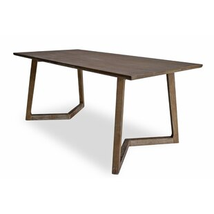 Kulick Solid Wood Dining Table by Mercury Row Savings