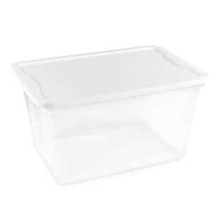Compare 56 Quart Clear Plastic Storage Totes (Set of 6) By Homz