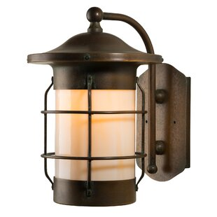 Balboa 1-Light Outdoor Wall Lantern by Am..