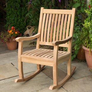 Whitney Teak Rocking Chair Image