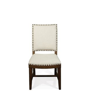 Woosley Upholstered Dining Chair (Set of 2) by Gracie Oaks