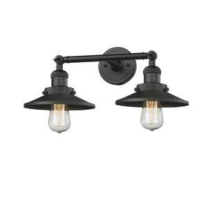 Innovations Lighting Railroad 2-Light Vanity Light